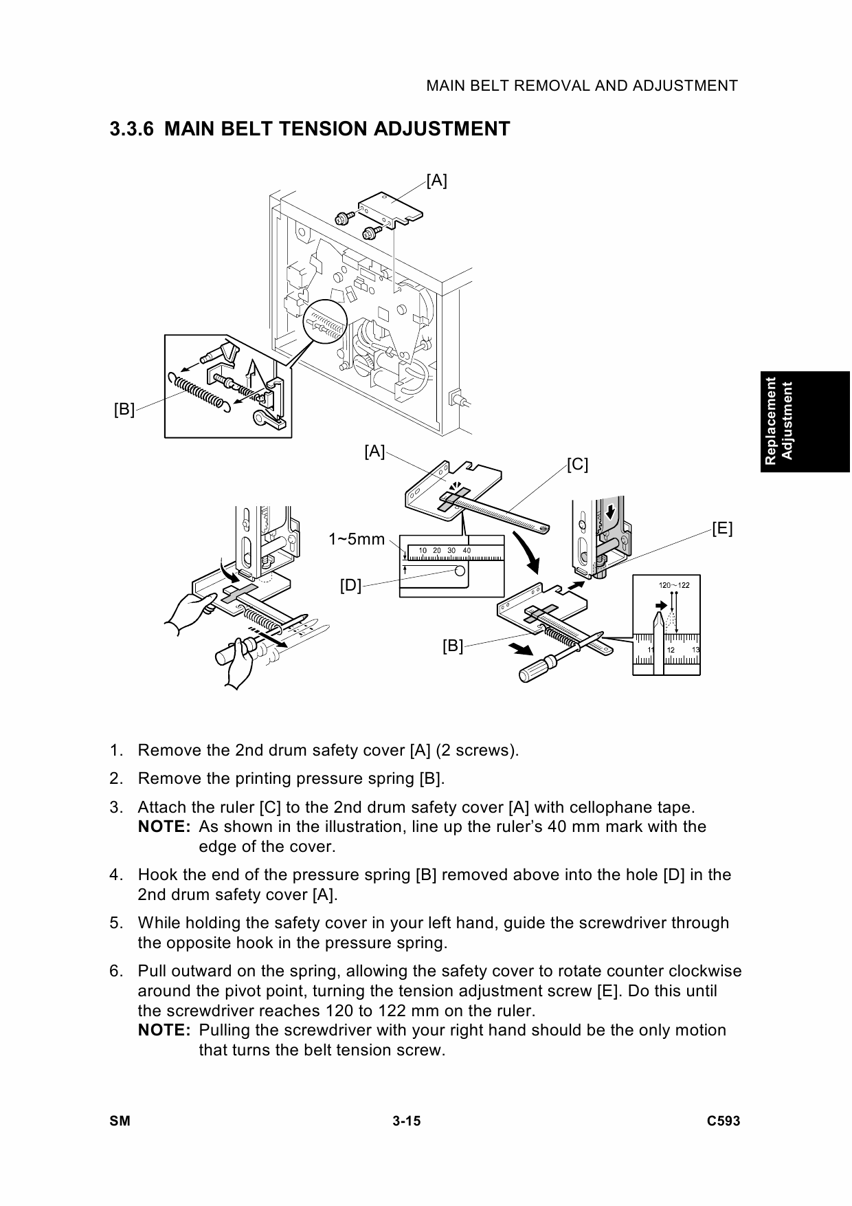 RICOH Aficio TC-II C593 Service Manual-3